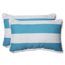 Cabana Stripe Indoor/Outdoor Lumbar Pillow (Set of 2)