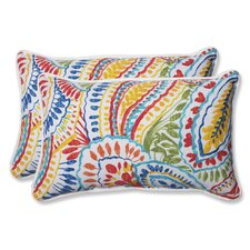 Ummi Indoor/Outdoor Lumbar Pillow (Set of 2)