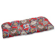 Cera Garden Outdoor Loveseat Cushion