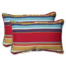 Westport Garden Indoor/Outdoor Lumbar Pillow (Set of 2)