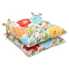 Discount Spring Bling Outdoor Dining Chair Cushion (Set of 2)