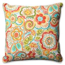 Bronwood Carnival Indoor/Outdoor Floor Pillow