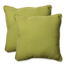 Fresh Indoor/Outdoor Throw Pillow (Set of 2)