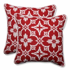 Aspidoras Indoor/Outdoor Throw Pillow (Set of 2)