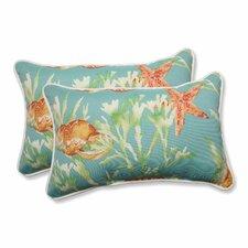 Savings Daytrip Indoor/Outdoor Lumbar Pillow (Set of 2)