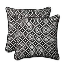 Discount In the Frame Indoor/Outdoor Throw Pillow (Set of 2)