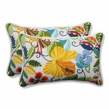 Lensing Indoor/Outdoor Lumbar Pillow (Set of 2)