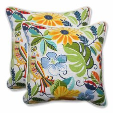 Lensing Indoor/Outdoor Throw Pillow (Set of 2)