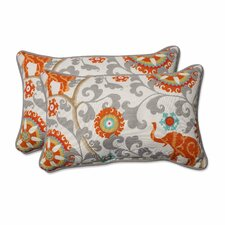 Menagerie Indoor/Outdoor Lumbar Pillow (Set of 2)