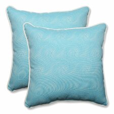 No Copoun Nabil Outdoor/Indoor Throw Pillow (Set of 2)