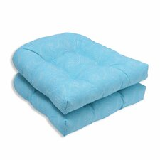 Nabil Outdoor Dining Chair Cushion (Set of 2)