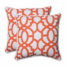 Nunu Geo Indoor/Outdoor Throw Pillow (Set of 2)