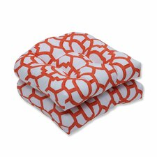 Coupon Nunu Geo Outdoor Dining Chair Cushion (Set of 2)