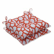 Nunu Geo Outdoor Dining Chair Cushion (Set of 2)