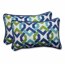 Reiser Indoor/Outdoor Lumbar Pillow (Set of 2)