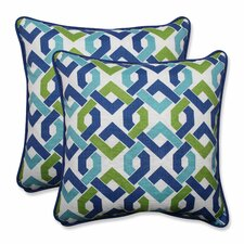 Reiser Indoor/Outdoor Throw Pillow (Set of 2)