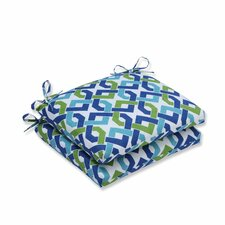 Reiser Outdoor Dining Chair Cushion (Set of 2)