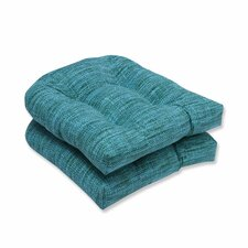 Modern Remi Outdoor Dining Chair Cushion (Set of 2)