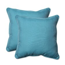 Tweed Indoor/Outdoor Throw Pillow (Set of 2)