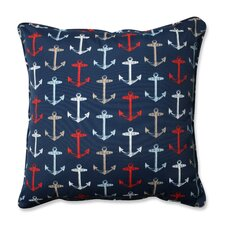 Anchor Allover Indoor/Outdoor Floor Pillow