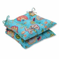 Arabella Outdoor Dining Chair Cushion (Set of 2)