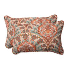 Crescent Beach Indoor/Outdoor Lumbar Pillow (Set of 2)