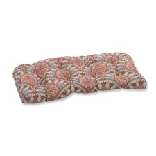 Crescent Beach Outdoor Love Seat Cushion