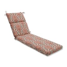 Crescent Beach Outdoor Chaise Lounge Cushion