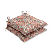 Crescent Beach Outdoor Dining Chair Cushion (Set of 2)