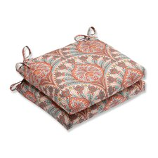 Best #1 Crescent Beach Outdoor Dining Chair Cushion (Set of 2)