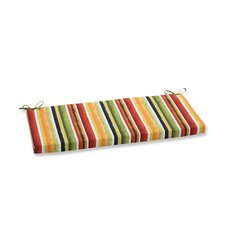 Dina Noir Outdoor Bench Cushion