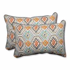 Eresha Oasis Outdoor/Indoor Throw Pillow (Set of 2)