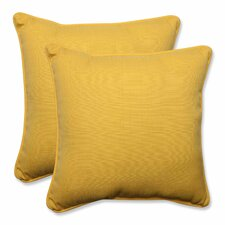 #1 Forsyth Soleil Outdoor/Indoor Throw Pillow (Set of 2)