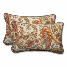 Hadia Sunset Outdoor/Indoor Throw Pillow (Set of 2)