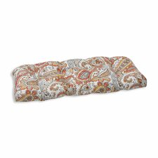Hadia Sunset Outdoor Love Seat Cushion