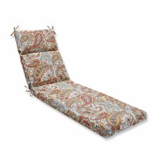 Hadia Sunset Outdoor Chaise Lounge Cushion