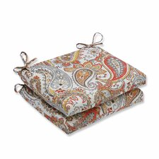 Hadia Sunset Outdoor Dining Chair Cushion (Set of 2)