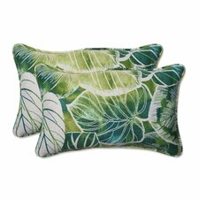Key Cove Lagoon Indoor/Outdoor Throw Pillow (Set of 2)