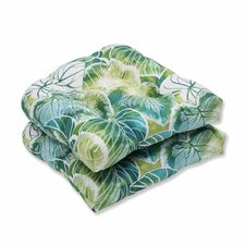 Key Cove Lagoon Outdoor Dining Chair Cushion (Set of 2)