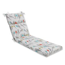 Retweet Mango Outdoor Chaise Lounge Cushion