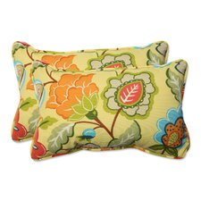 Timmo Sunshine Outdoor/Indoor Throw Pillow (Set of 2)