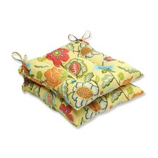 Timmo Sunshine Outdoor Dining Chair Cushion (Set of 2)