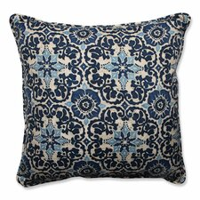Woodblock Prism Outdoor/Indoor Floor Pillow
