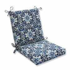 Woodblock Prism Outdoor Dining Chair Cushion