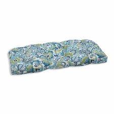 Zoe Mallard Outdoor Loveseat Cushion