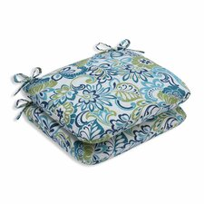 Lovely Zoe Mallard Outdoor Dining Chair Cushion (Set of 2)