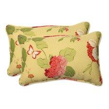 Risa Corded Indoor/Outdoor Lumbar Pillow (Set of 2)