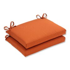 Fresh Cinnabar Outdoor Seat Cushion (Set of 2)