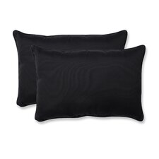 Fresco Corded Indoor/Outdoor Lumbar Pillow (Set of 2)