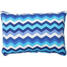 Panama Wave Indoor/Outdoor Lumbar Pillow (Set of 2)